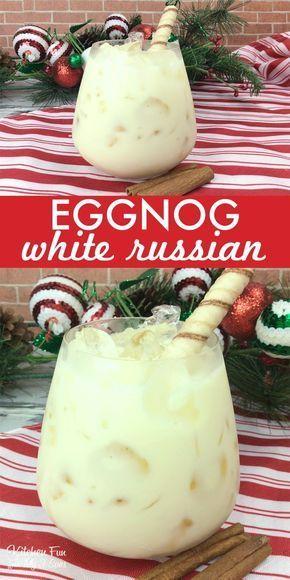 eggnog white russian