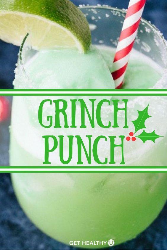 grinch punch