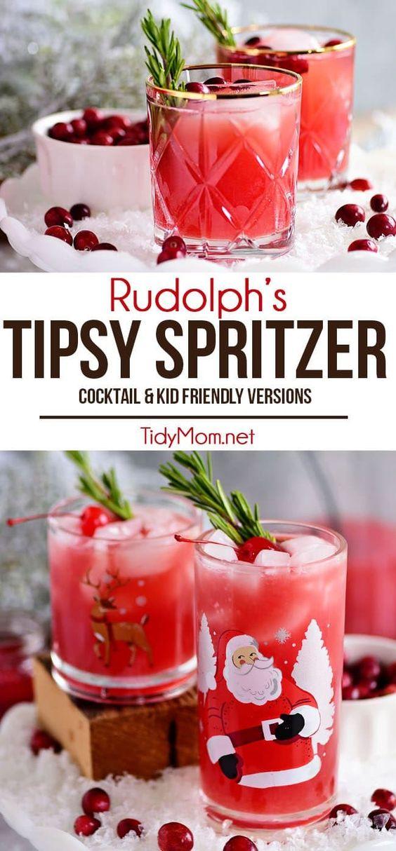rudolphs tipsy spritzer