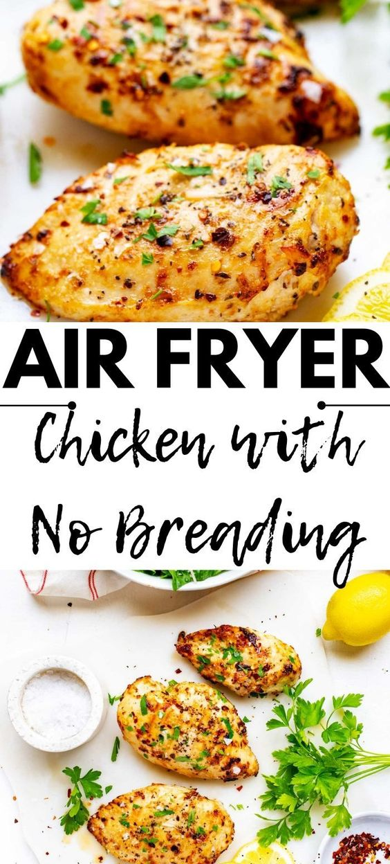 air fryer chicken with no breading
