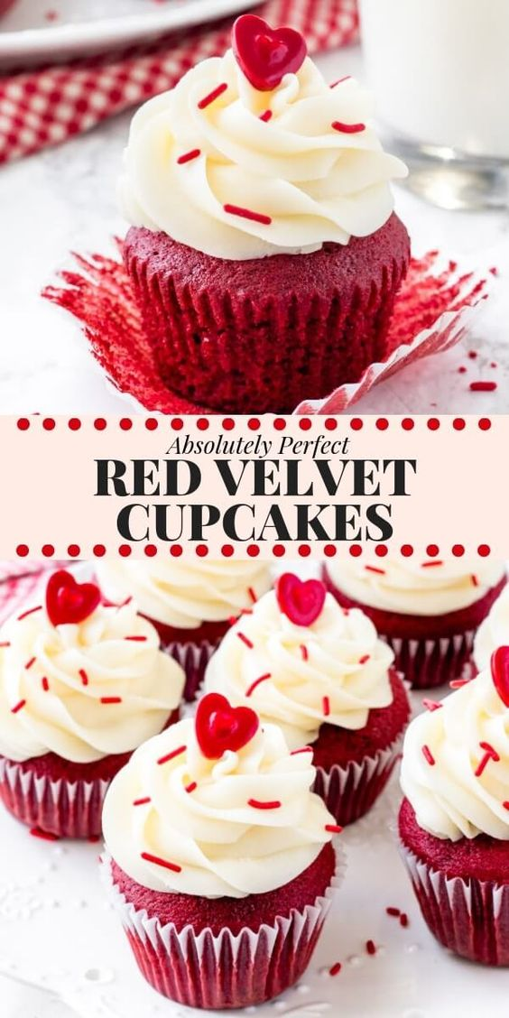 absolutely perfect red velvet cupcakes