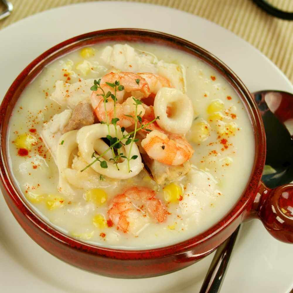 Slow Cooker Shrimp Chowder