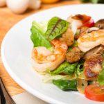 Chinese Shrimp and Mushrooms