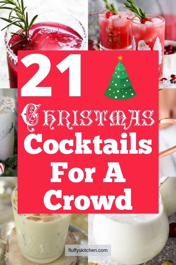 21 Christmas Cocktails for a Crowd