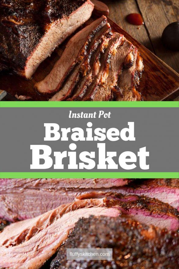 Instant Pot Braised Brisket