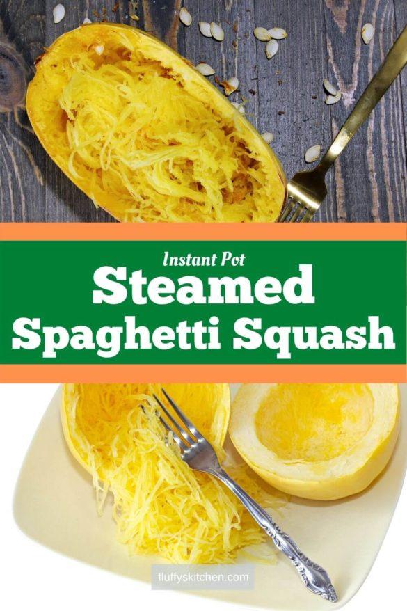 Instant Pot Steamed Spaghetti Squash